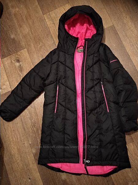 Зимове пальто для дівчинки 146 Demix
