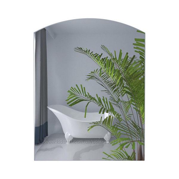 Настенное зеркало для ванной комнаты без полки 600х450 мм