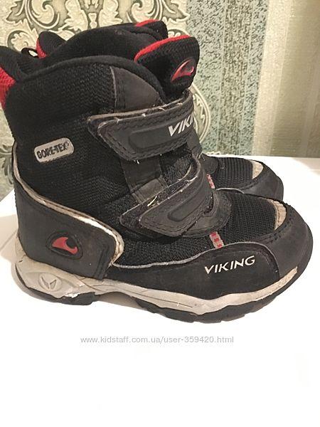 ботинки на морозы и слякоть Viking Норвегия р.28