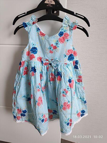 Лёгкое летнее платьице 1.5-2 г. Mothercare