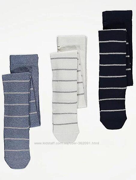 Колготы для девочек 1-2, 2-4, 4-6, 6-8лет Topolino, H&M, C&A, George