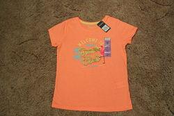 Яркая футболка для девочек Primark