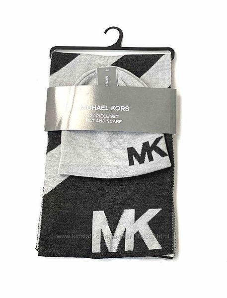 Комплект шапка , шарф мужской Michael Kors Майкл Корс  Оригинал