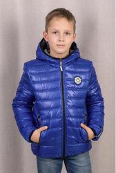 двухсторонняя куртка для мальчика