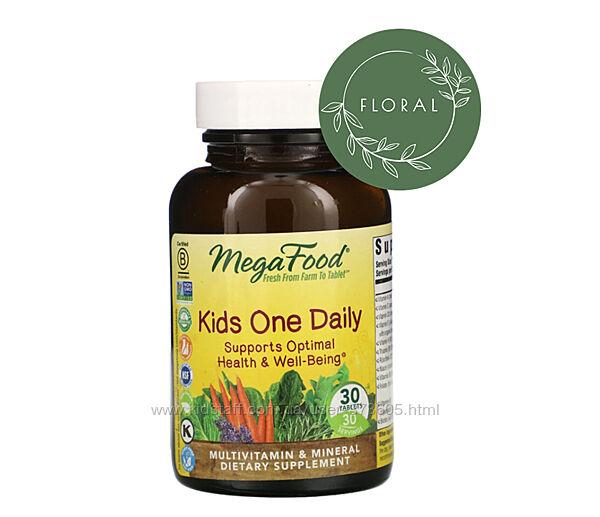 Натуральные Мультивитамины для детей от Megafood