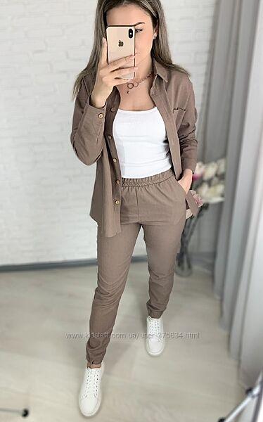 Костюмчики рубашка и брюки
