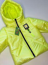 Новинка 2021 Куртка демисезонная жемчуг на 80-140