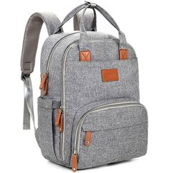 Рюкзак для мамы Bambino Premium Серый