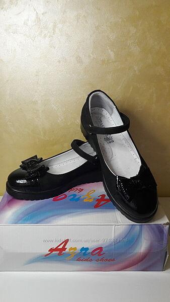 Туфли ортопедические AZRA Турция 34 р. стелька 22 см в отл. сост.