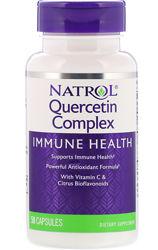 Natrol, Комплекс с кверцетином, 50 капсул