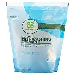 Grab Green, капсулы со стиральным порошком для автоматических посудомоечных