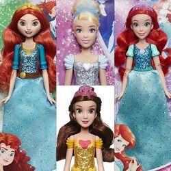 Принцессы Дисней, золушка, Мерида, Русалка, Рапунцель, Анна, Белль, Ариэль