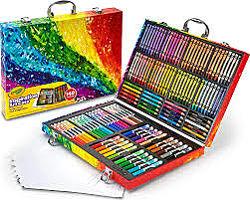 Кейс для Творчества Crayola Набор для Рисования в Чемоданчике 140 предметов