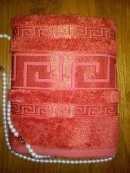 бамбуковые полотенца Meander Cestepe 50х90 и 70х140 см