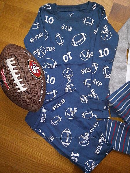 хлопковые пижамки Сarters, Gymboree, Childrens Place от 3 до 14 лет