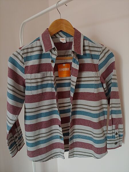 Фланелева сорочка Gymboree на 8-10 років