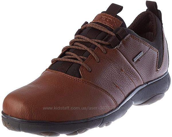 Мужские кожаные кроссовки Geox Nebula 4 X 4 B ABX Trainers 42