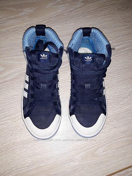 Высокие кеды Adidas 33р стелька 20,5 см