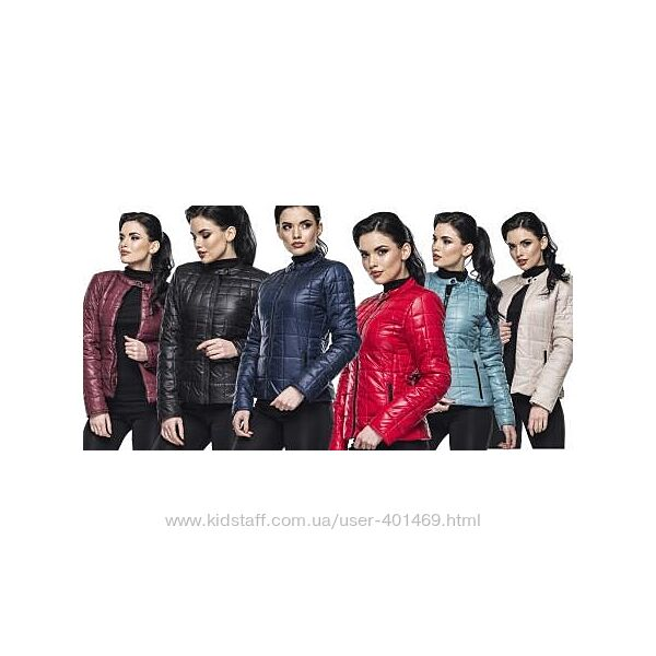 Демисезонная женская куртка Марта разные цвета