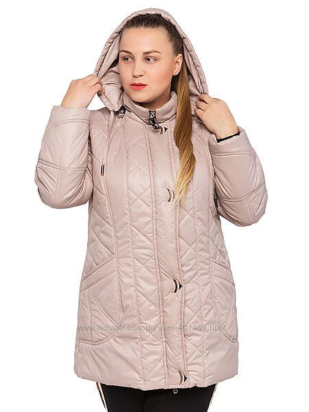 Куртка демисезонная женская Линда / р.52-60