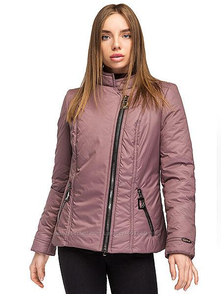 Куртка, косуха женская демисезонная Леона / р.48-58