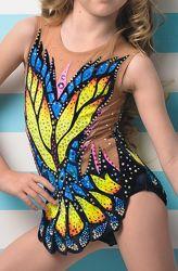 Прокат купальника для художественной гимнастики на рост 105-116 см.