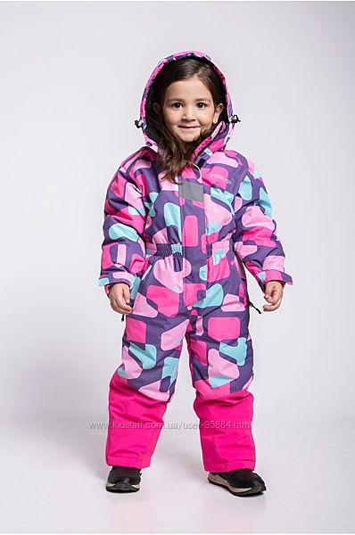Новинка Детские лыжные комбинезоны для девочки и мальчика 5 цветов