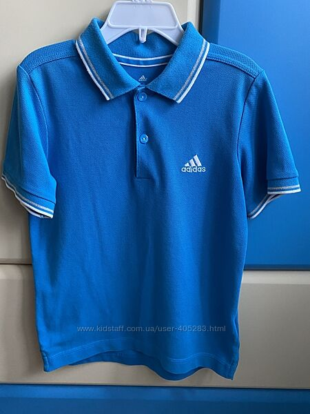 Поло Adidas оригинал на рост 128