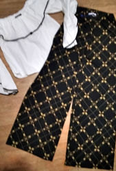 Комплект блуза кюлоты ZARA