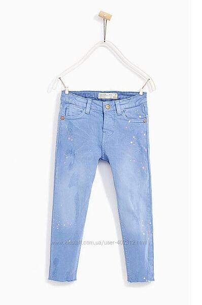 Джинсы и штаны для девочек от бренда ZARA на 6,7,9 и 14 лет