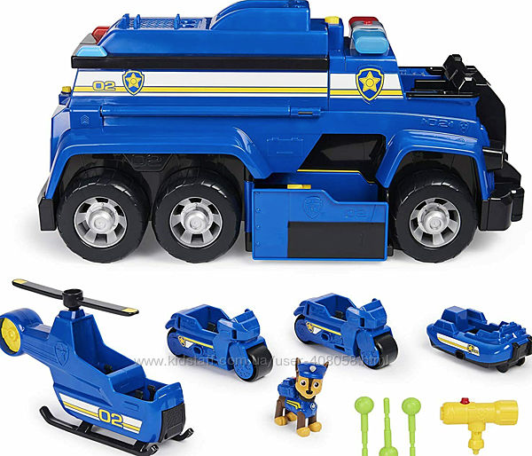 Paw Patrol Большой полицейский автомобиль Гонщика