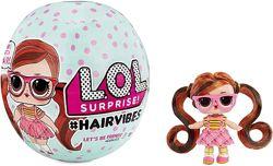 L. O. L HAIRVIBES, оригинал, Америка. Куколки со съемными париками