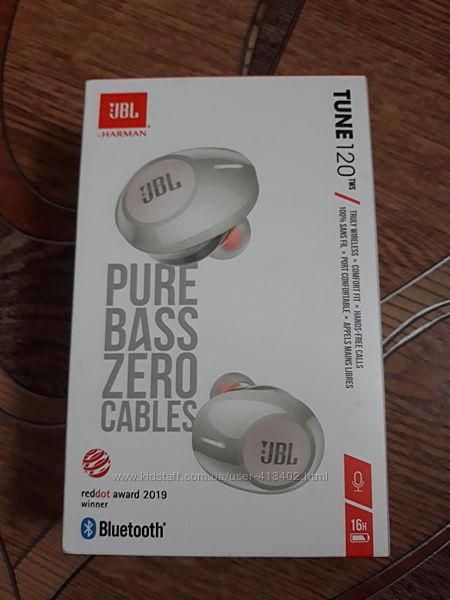 Новые беспроводные наушники Harman JBL Tune 120 TWS