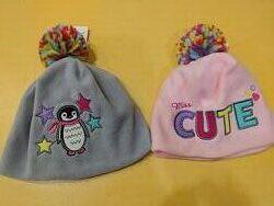 Распродажа флисовых шапок для девочек Takko Германия р.98-128