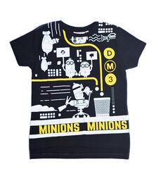Черная футболка с миньонами despicable me 3 primark на мальчика 2-3 года