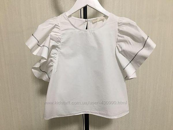 Белая рубашка блузка Zara