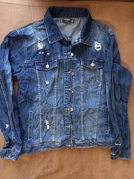 джинсовый пиджак MANGO, 13-14