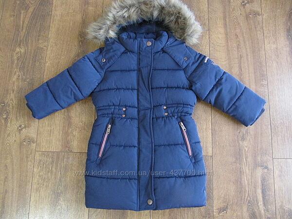 Куртка пальто зимняя на девочку Palomino 92см 2-3года