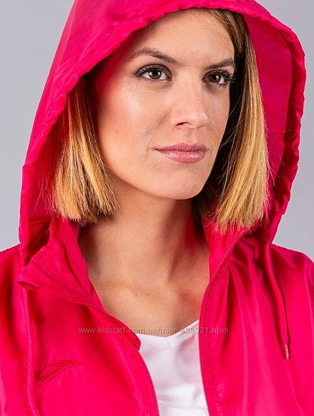 Куртка фуксия ветровка розовая большой размер over size