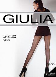 Колготки женские со швом Giulia chik 20 den