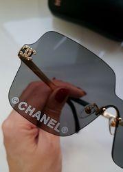 New- Безободковые очки - маска Chanel  -