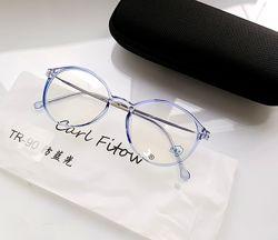 Компьютерные очки в ассортименте- пластик TR . Футляр в комплекте