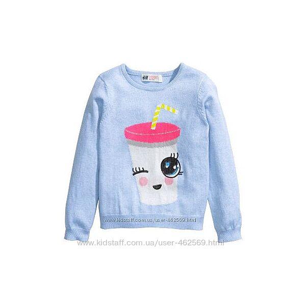 Тонкий  свитерок H&M на 2-4 года