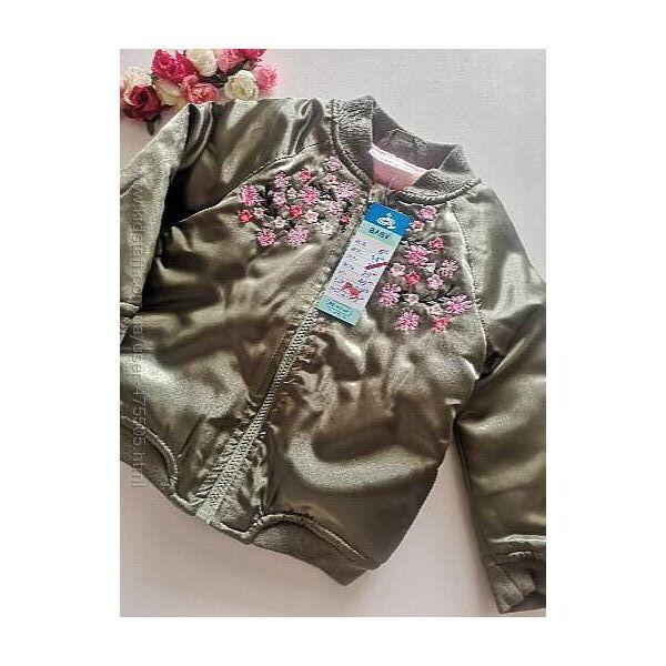 Куртка с вышивкой pepco
