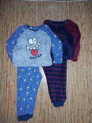 Теплая пижама George 4-5 лет, рост 104-110