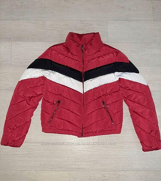 Стильная теплая укороченная куртка New Look 12-13 лет