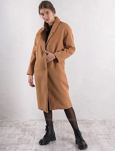Стильное пальто оверсайз от Only размер L-XL