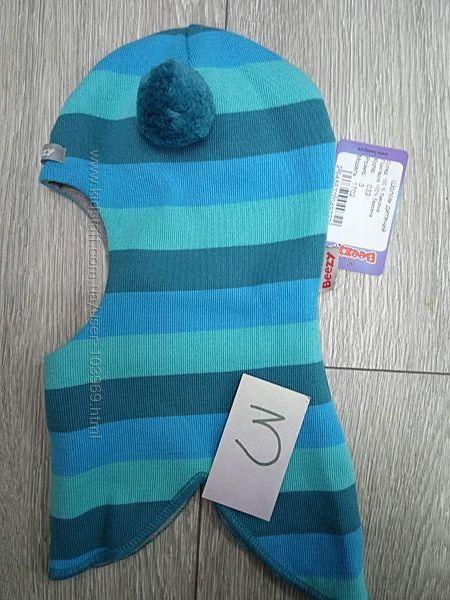 Демисезонный шлем Бизи BEEZY для мальчика, размер 3 54-56см