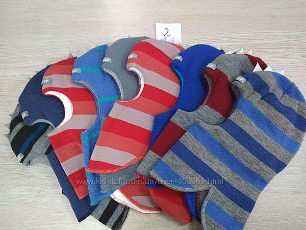 Зимняя шапка-шлем Бизи BEEZY для мальчиков и девочек