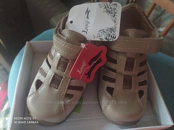 Босоножки- туфли кожаные детские